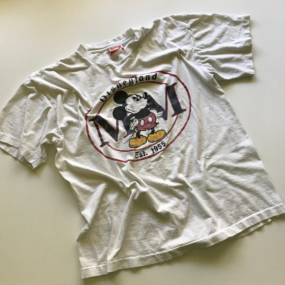 Disney Other - Vintage Mickey Mouse DisneyLand MM T-Shirt 1990s
